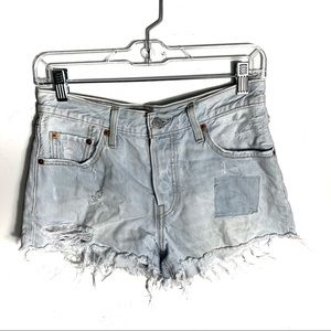 Levi's Shorts - Levi's Cut Off Mid Rise Button Fly Jean Shorts